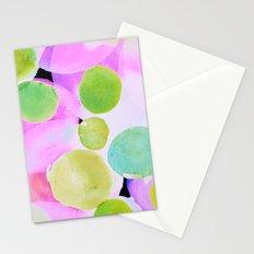Polka Dot Pink Stationery Cards