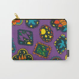 Night Dreams 2 by nettie heron-middleton Carry-All Pouch