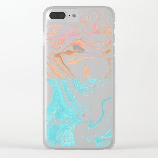 Paint Duality #society6 #decor #buyart Clear iPhone Case