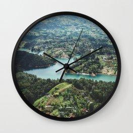 Guatape, Colombia Wall Clock