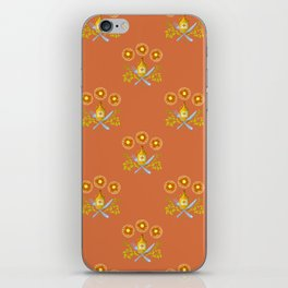 Waffle and Syrup (Caramel Syrup) iPhone Skin