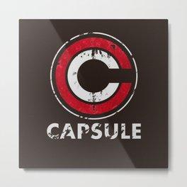 capsule logo Metal Print