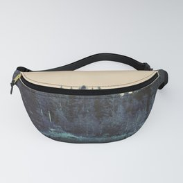 Blue forest Fanny Pack