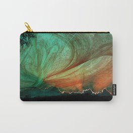 Sunset stormy skies Carry-All Pouch