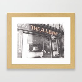 The Ale Shop Framed Art Print