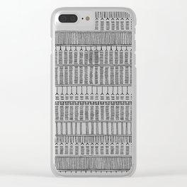 Inuit Tattoo Clear iPhone Case