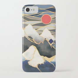 Ice Mountains iPhone Case