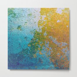 Chipping Paint Metal Print