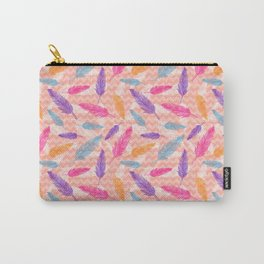 Feathers pattern Carry-All Pouch