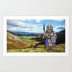Carlin the Caledonian #2 Art Print