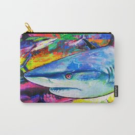 Shark Colors Carry-All Pouch