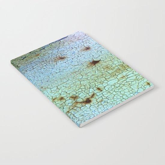Crackled Case Notebook