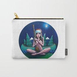 Canoe Girl Carry-All Pouch