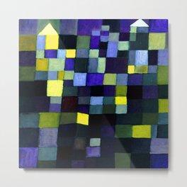 Paul Klee Architecture Metal Print