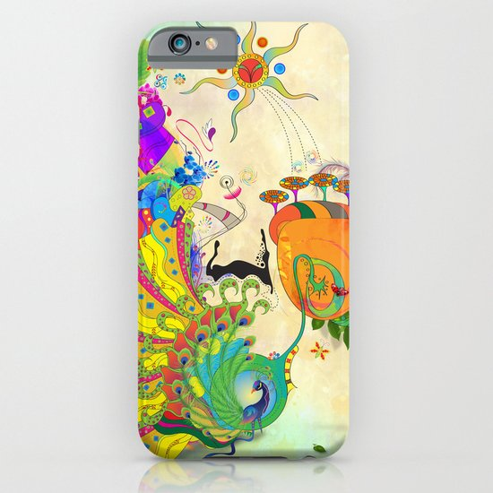 The Peacock Dance iPhone & iPod Case