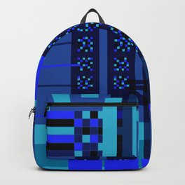 Movimiento de cuadritos azules · Glojag Backpack