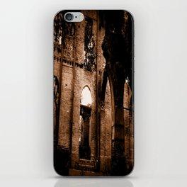 brick by brick iPhone Skin