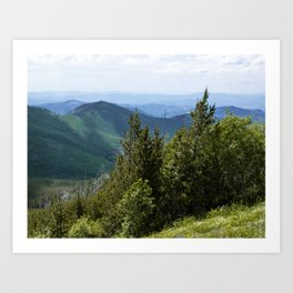 Pacific Northwest Trail Art Print