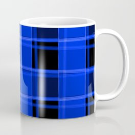 Bright intersections of light and nautical lines on a dark background. Coffee Mug