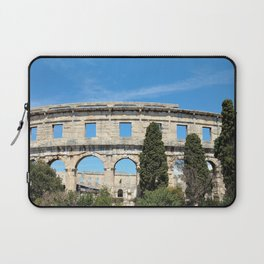 pula croatia ancient arena amphitheatre Laptop Sleeve