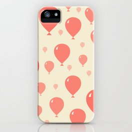 Red Balloons iPhone Case