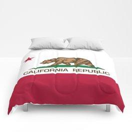 California flag Comforters