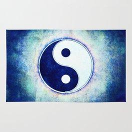 Yin Yang - Blue Washed Rug