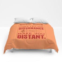 Spooky Scary Dissonance! — Music Snob Tip #439.5 Comforters