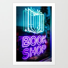 Book store Art Print