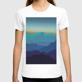 Blue Mountain Range T-shirt