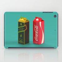 whisky iPad Cases featuring Whisky Cola by Maxim Kirienko Art
