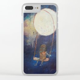 Special Parts: No more sorrow Clear iPhone Case