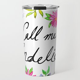 Call me Cordelia - Anne of Green Gables Travel Mug