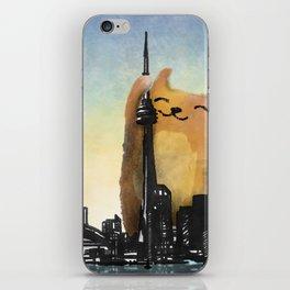 Level Cat Kaiju iPhone Skin
