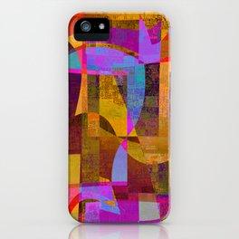 lookin' back iPhone Case