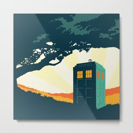 Tardis Travel Metal Print