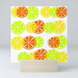 Bright Citruses Mini Art Print