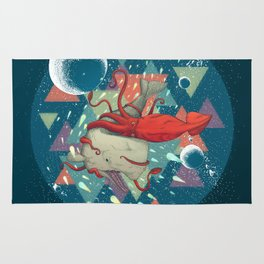 Water Fight Rug