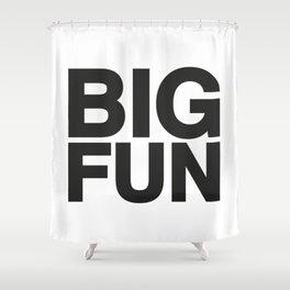 BIG FUN Shower Curtain