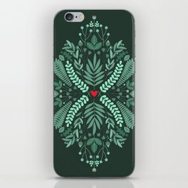 Minty Spring iPhone Skin