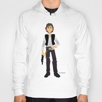 han solo Hoodies featuring Han Solo by Roe Mesquita