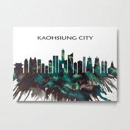 Kaohsiung City Skyline Metal Print