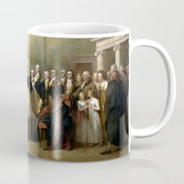 General Washington Resigning His Commission Coffee Mug
