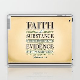 The Substance of Things Hoped for . . . Laptop & iPad Skin