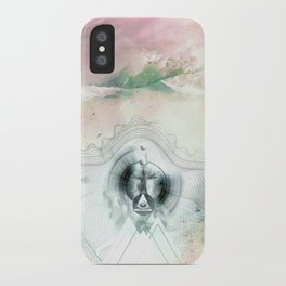 Encircles the world iPhone Case