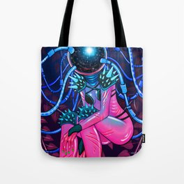 Space Warrior Tote Bag
