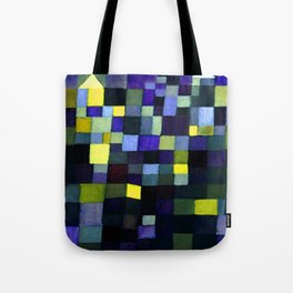 Paul Klee Architecture Tote Bag
