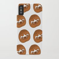 sloths iPhone & iPod Cases featuring So Many Sloths by tripinmidair