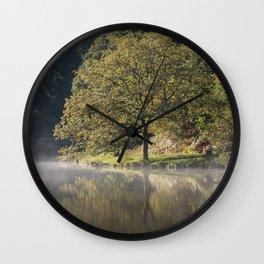 Misty Mallards Pike - 1 Wall Clock