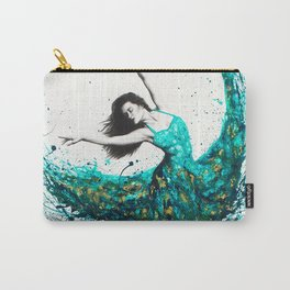 Chrysocolla Dance Carry-All Pouch